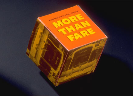 """More Than Fare"" meant a free ride plus money off. Who could resist?"